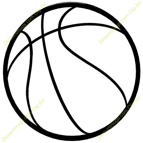 Line clipart basketball Clipart Free Basketball%20Clip%20Art Images Panda