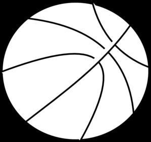 Line clipart basketball Free clip panda Basketball clipart
