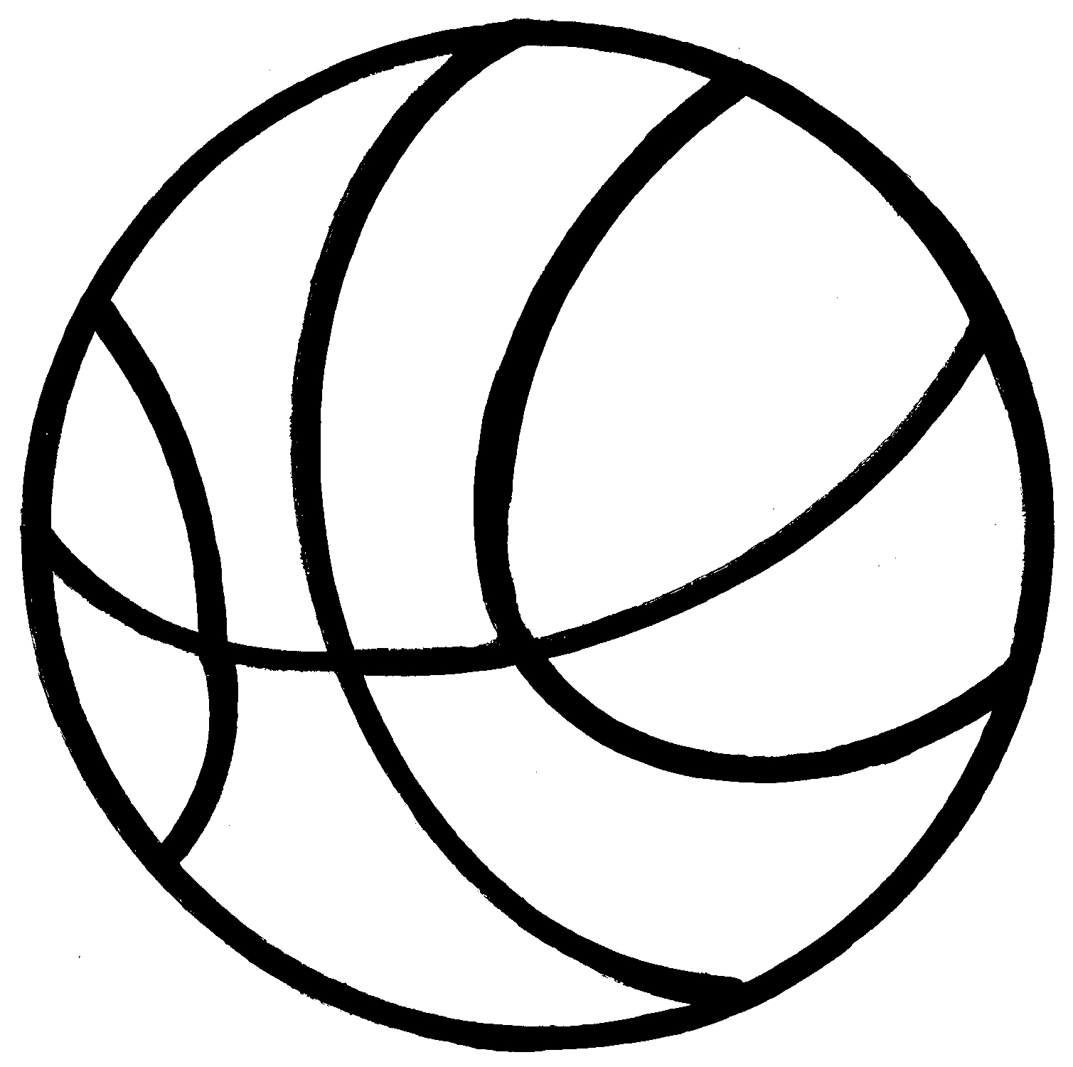 Line clipart basketball Images Engraving 3 pdclipart basketball