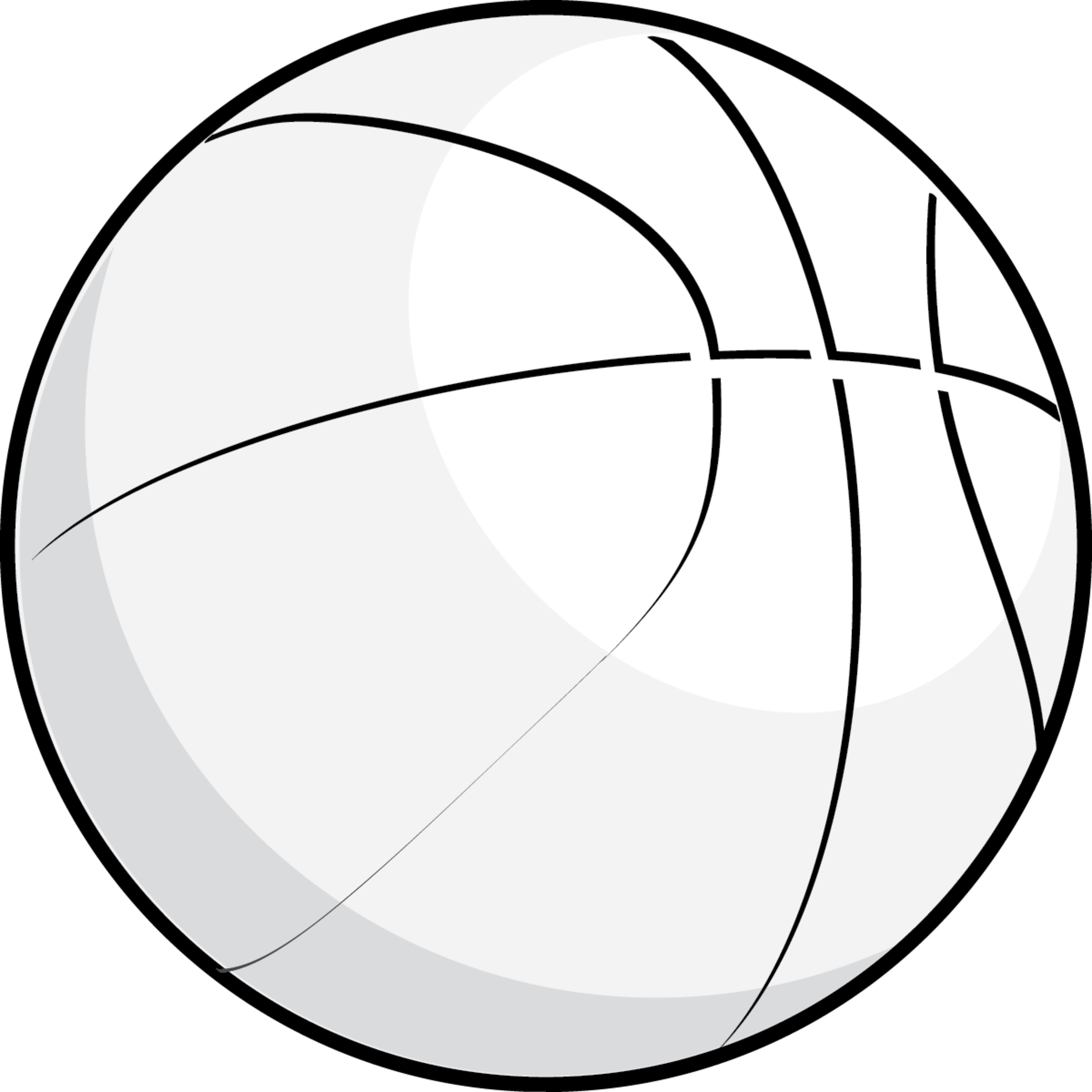 Line clipart basketball And Clipart Clipart And Black