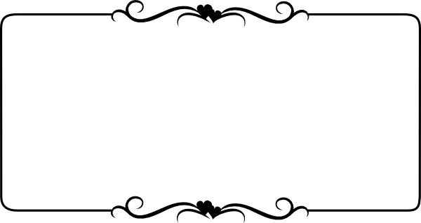 Ornamental clipart single line border Bottom Bottom Clipart Line Zone