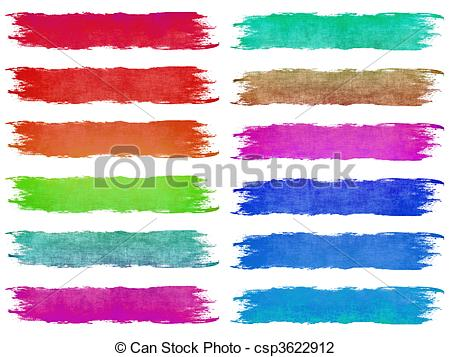 Line clipart brush stroke Csp3622912 Paint Brush Strokes Paint