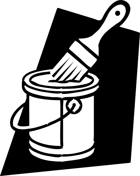 Lines clipart bucket  art as: Paint this