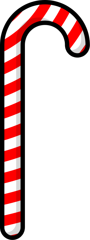 Candy Cane clipart simple Cane  cane candy art