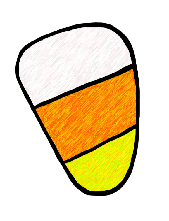 Line clipart candy corn Candy%20corn%20border%20clip%20art Images Panda Border Clip