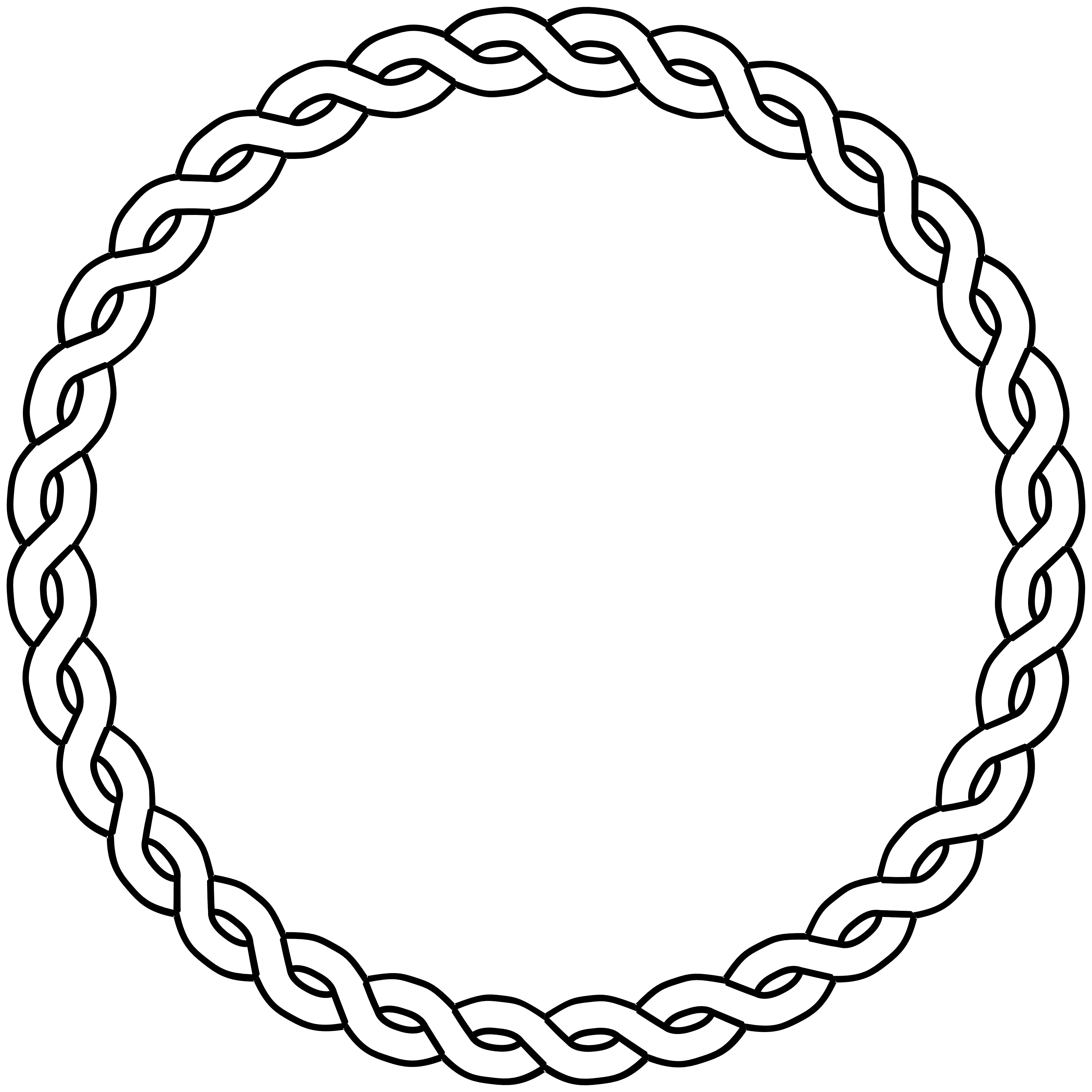 Drawn rope cowboy ClipArt rope circle  white
