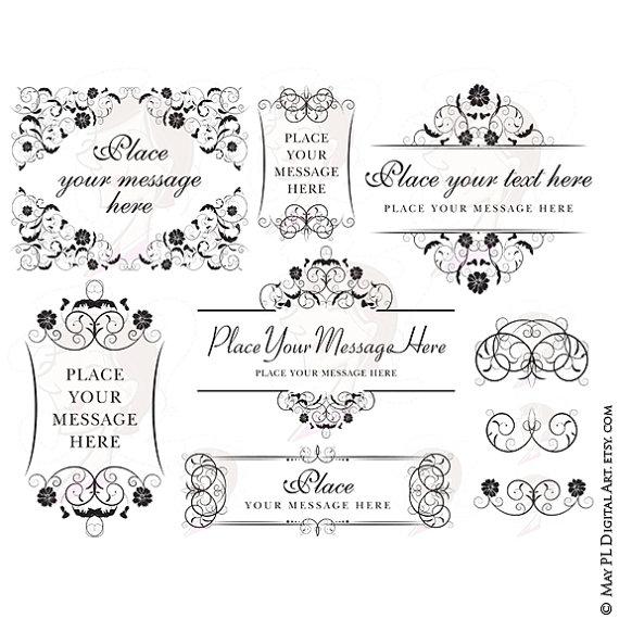 Line clipart classic Download Clip Flower Supply Flourish
