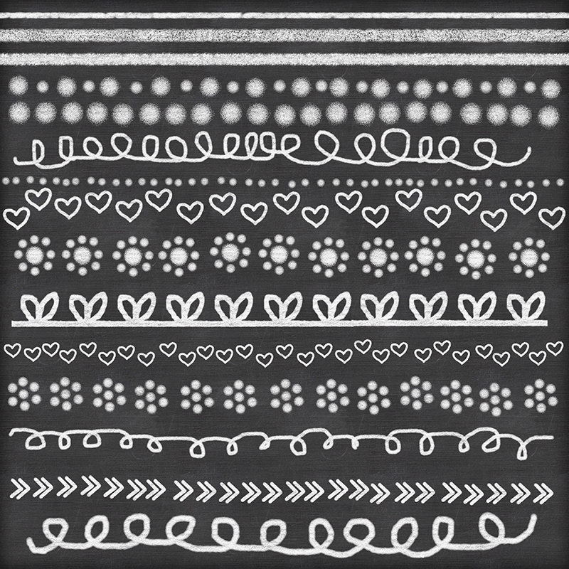 Line clipart doodle Board chalk PNG's doodle chalk