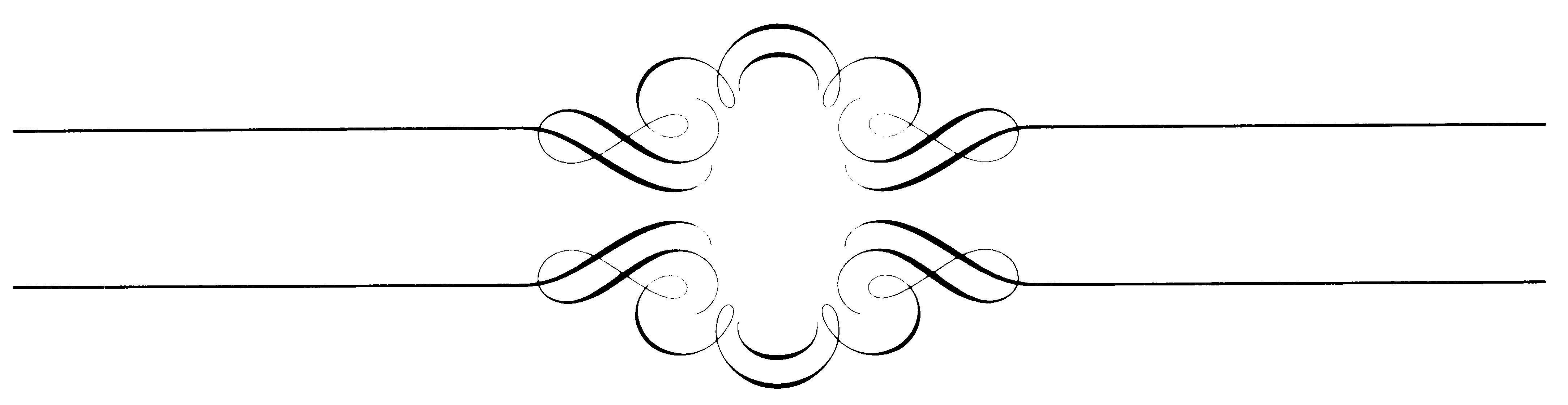 Line clipart elegant Elegant Zone Cliparts Caligraphy Cliparts