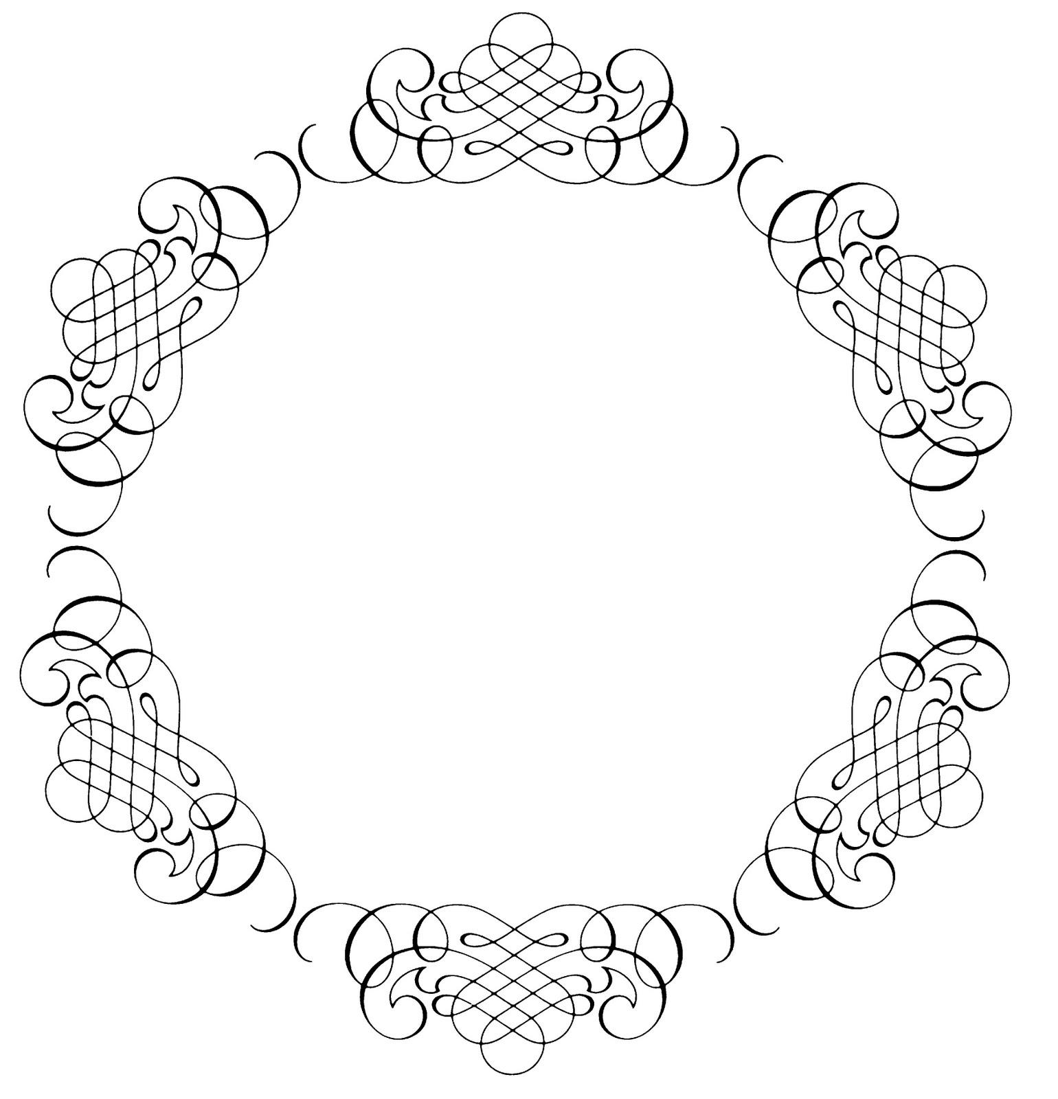 Line clipart elegant Art Elegant Clip Clip on