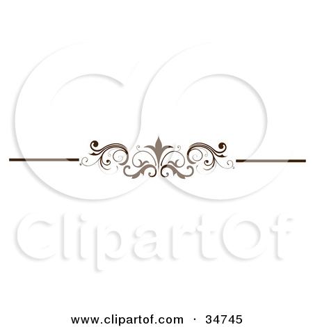 Line clipart elegant Dividers Dividers Line Download Straight
