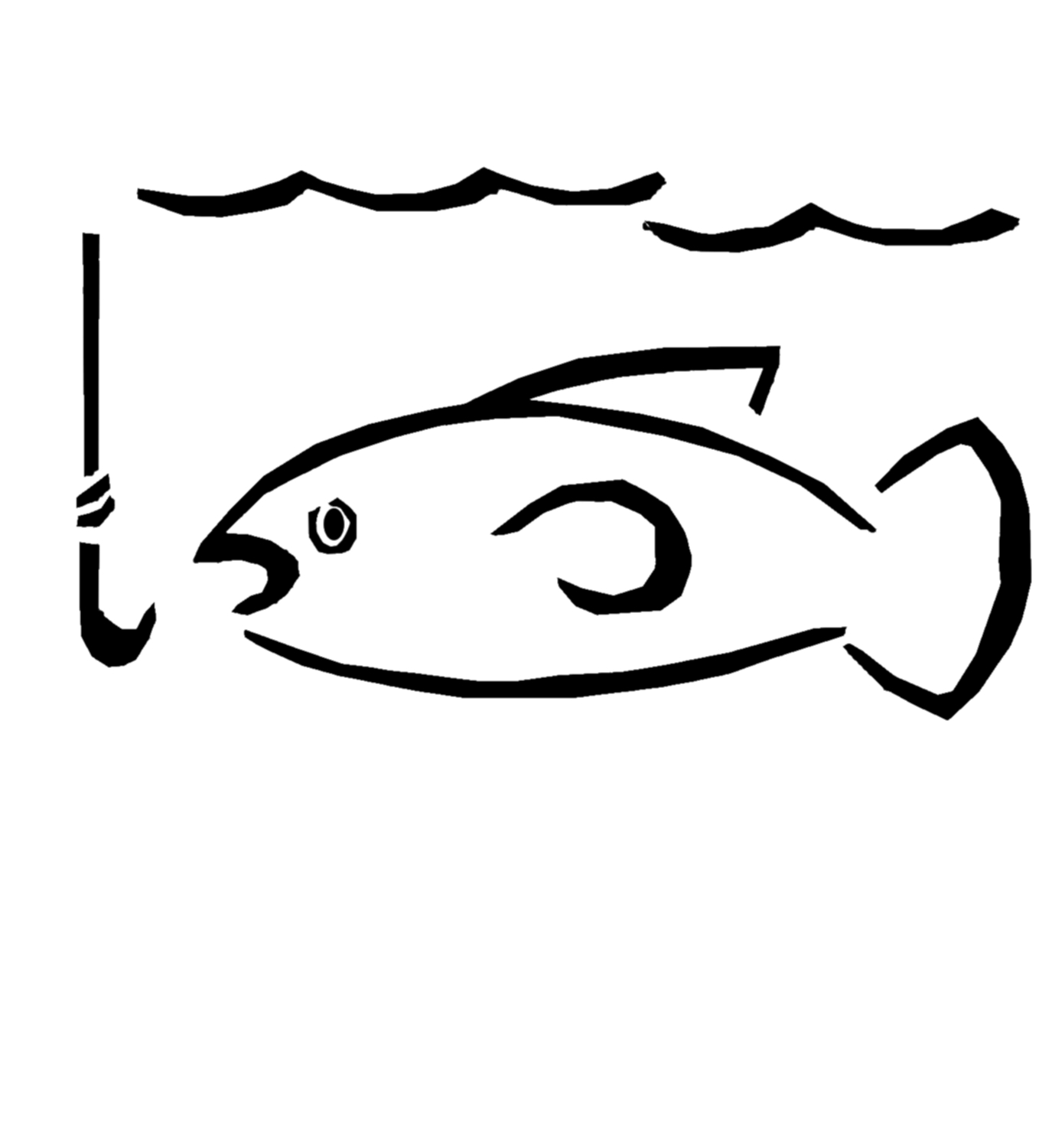 Line clipart fish hook  Clipart Others Fish Fishing