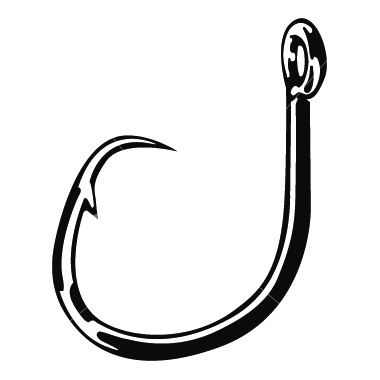 Line clipart fish hook Clip Download  Clipart Clipart