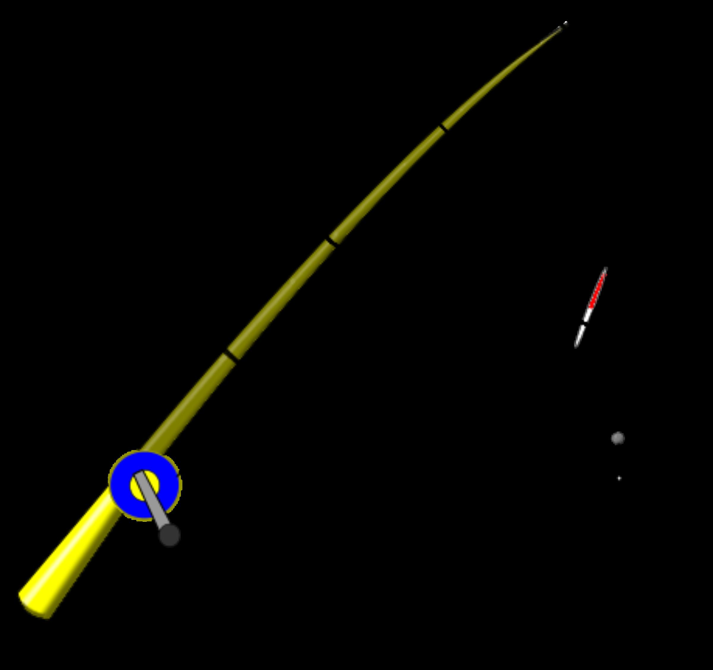 Lines clipart fishing pole Pole rod fishing Fishing clip