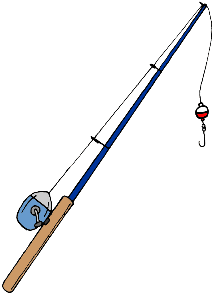 Lines clipart fishing pole Any Fishing Clip how Learn