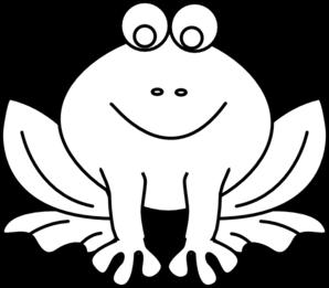 Amphibian clipart outline Com vector  art Clip