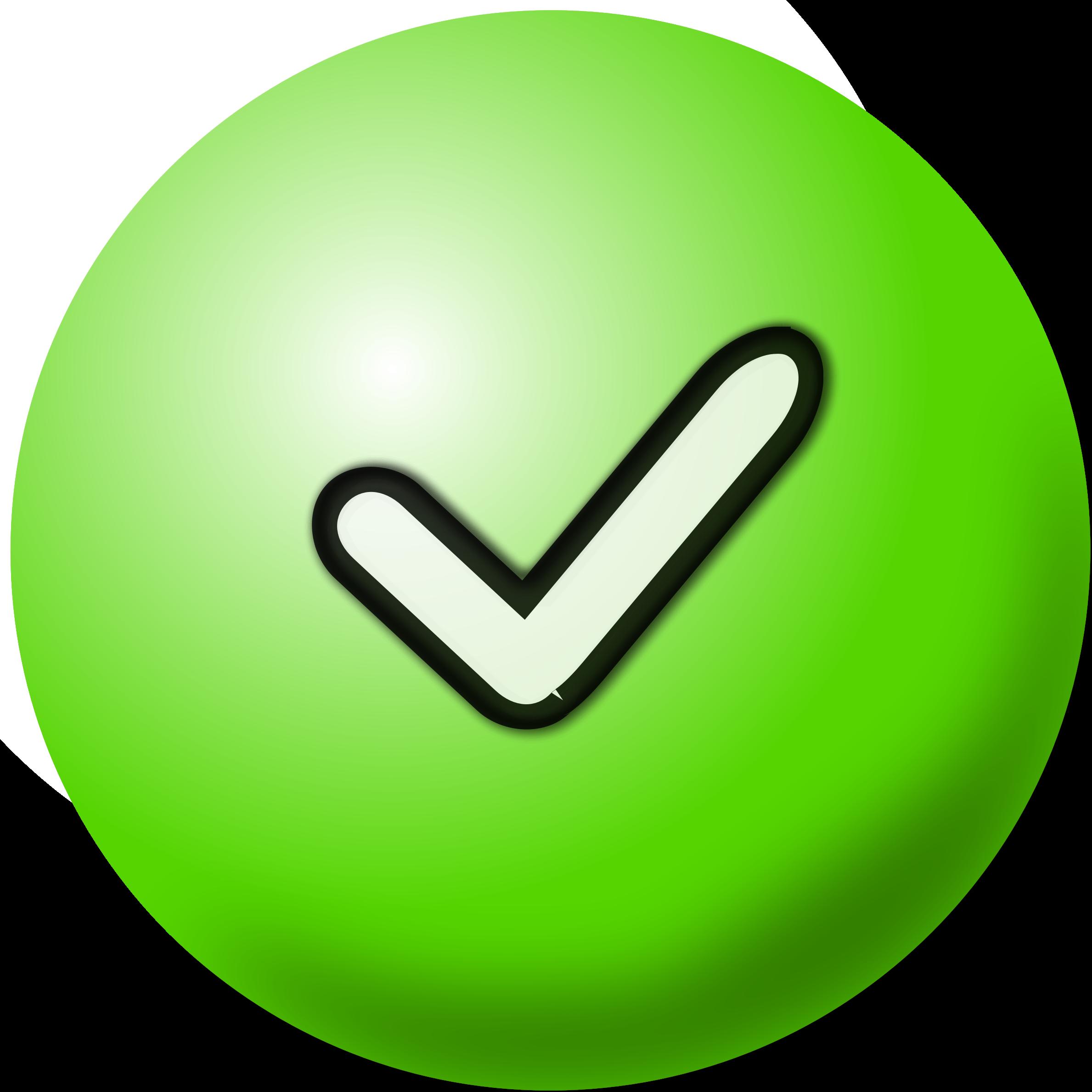 Line clipart green Clipart Mark Green Mark Check
