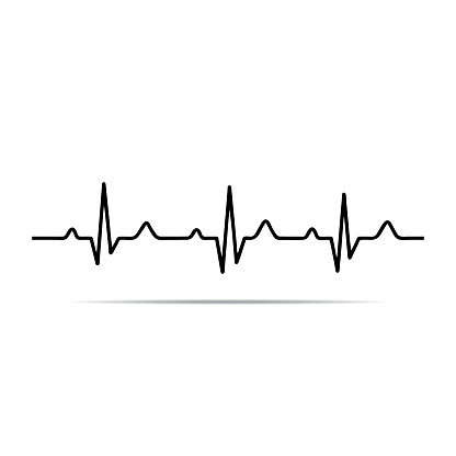 Beats clipart ekg rhythm Heart Clip Clipart Beat Art