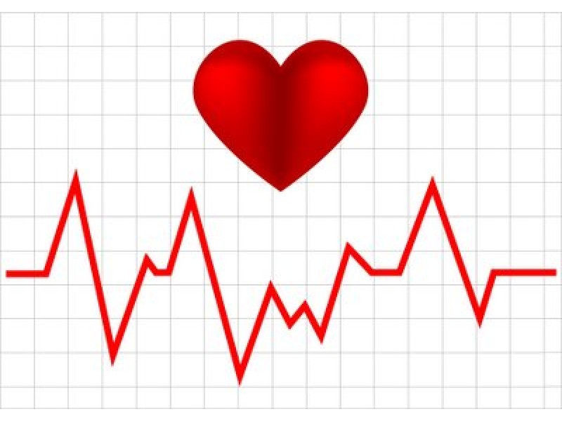 Line clipart heart rate #12
