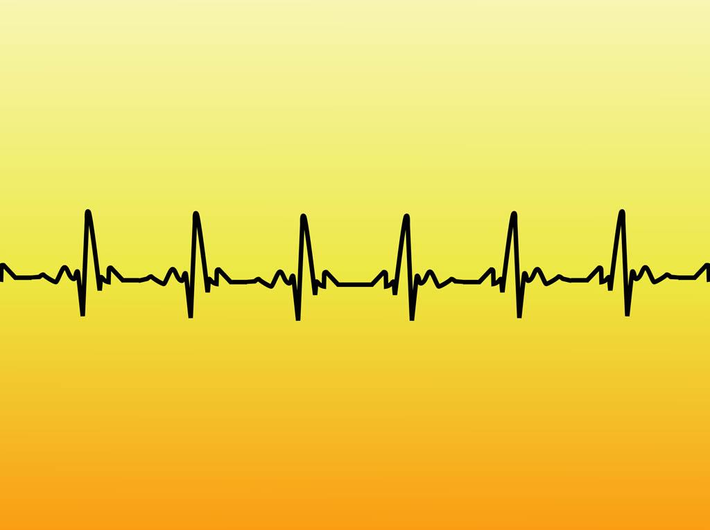 Lines clipart heart rate Clip ekg Line Art line
