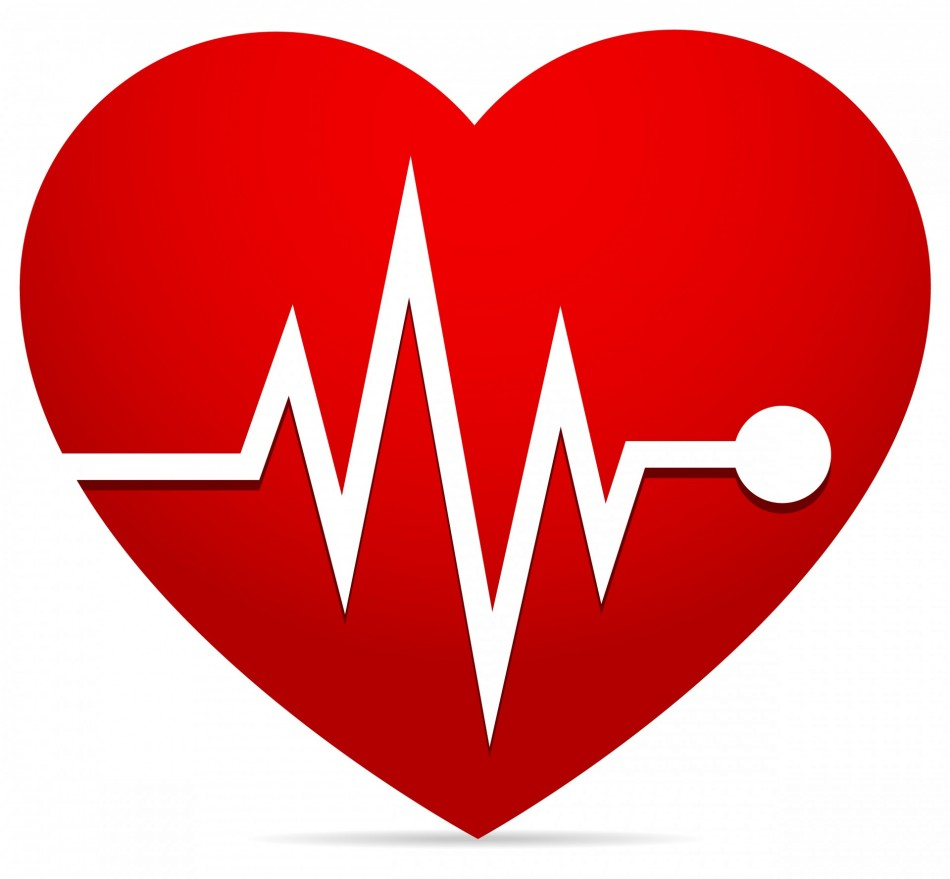 Line clipart heart rate #9