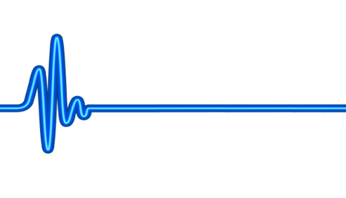 Line clipart heart rate #8