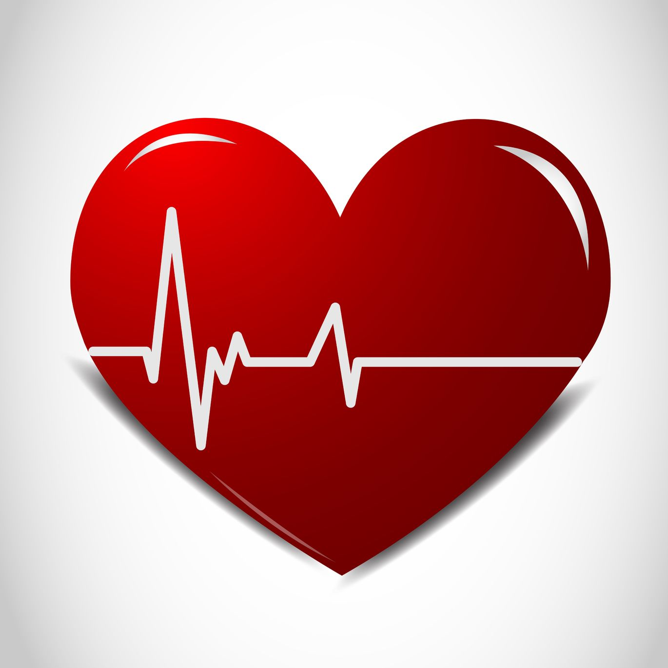 Line clipart heart rate #14