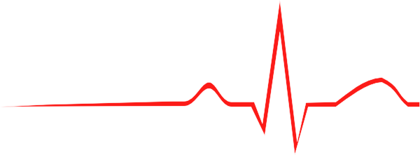 Line clipart heart rate #4