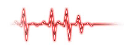 Line clipart heart rate #11