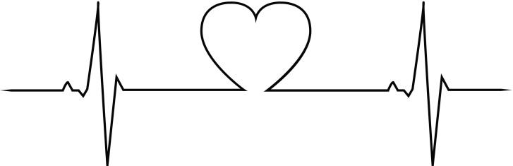 Rate clipart heart rhythm #5