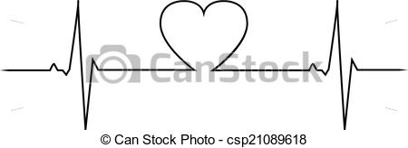 Love clipart heartbeat #2