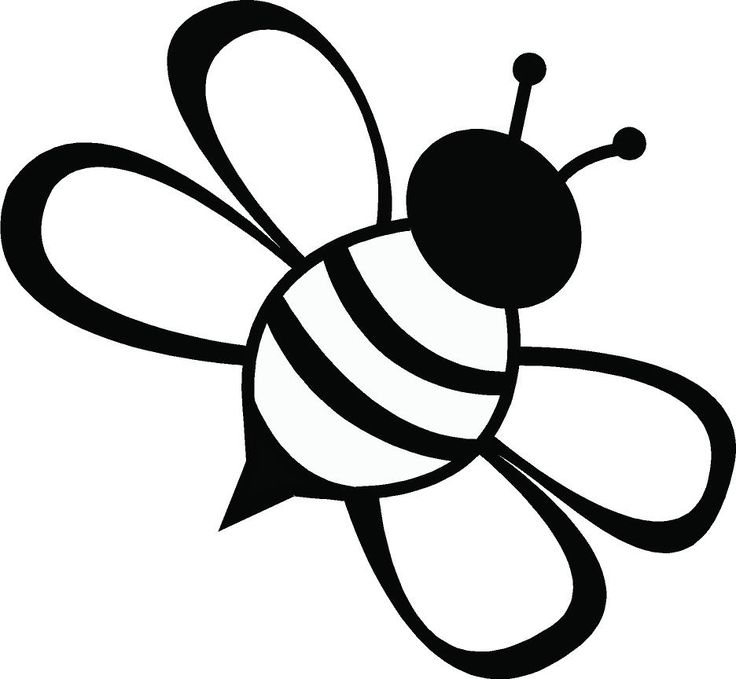 Lines clipart graphic art ClipArt on Bee Drawing Bee