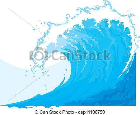 Sea clipart wave line #5