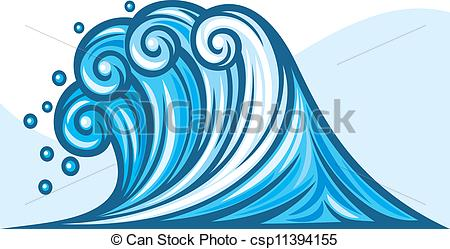 Sea clipart wave line #10