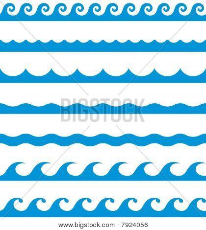 Weaves clipart wave pattern Art clip border art shower