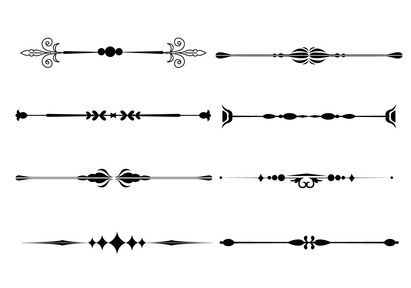 Line clipart ornament Line line – fancy art
