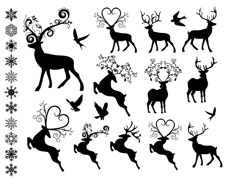 Line clipart ornament Christmas clipart ornament art Christmas