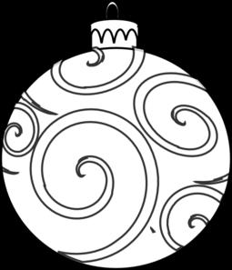 Line clipart ornament Swirl com Ornament Clip Swirl