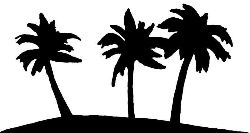 Line clipart palm tree Nature Perfect Art Art Palms