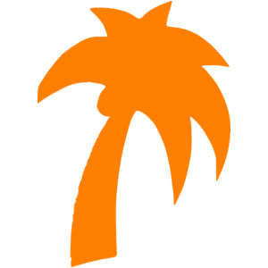 Line clipart palm tree Vector Tree domain online Palm