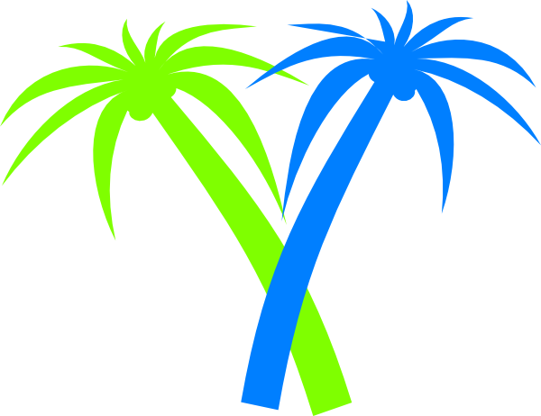 Lines clipart palm tree #5