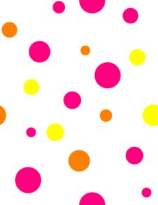 Lines clipart polka dot Border Free  Art And