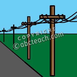 Line clipart power line Clipart Line drawings Power Line