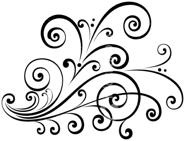 Bride clipart fancy scroll #9