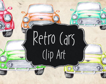 Classic Car clipart old fashioned car Clipart Clip clip collection art