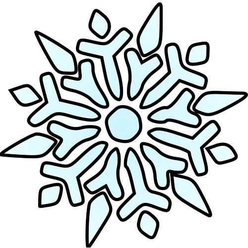 Word clipart snowflake Clipart clipart Panda Free