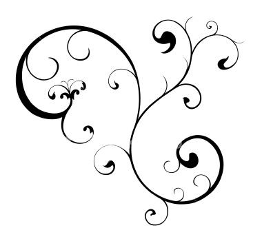 Line clipart swirly pattern Swirl  Clip Swirls Swirl