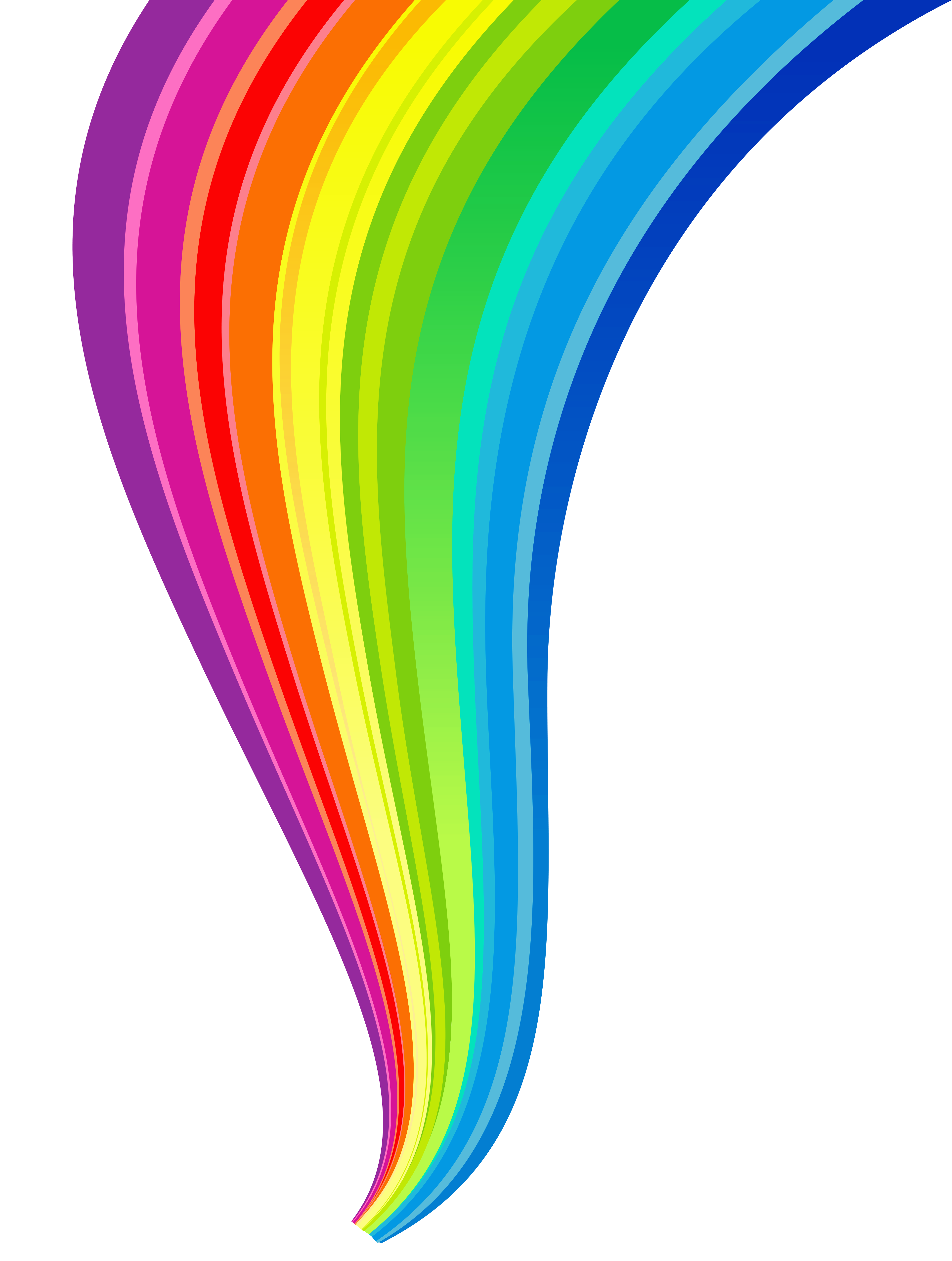 Line clipart transparent Size Yopriceville  Rainbow Gallery