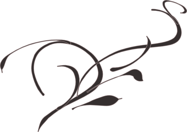Line clipart vine Decorative Clipart  Clip Horizontal