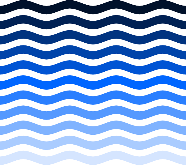 Line clipart wave At Waves Clker Clip image